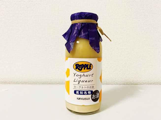 「ヨーグルトのお酒 リープル」の見た目・香り・味
