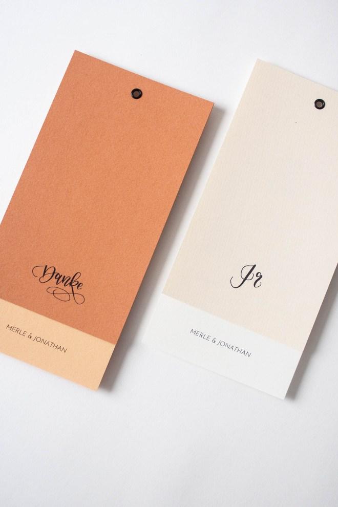 Hochzeitspapeterie selbst machen: Kalligrafie Details