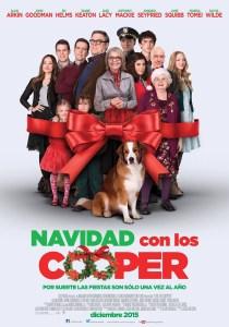 poster pelicula navidad con los cooper