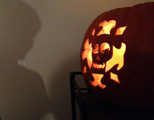 And let's not forget jack-o-lanterns. It is Halloween season after all.