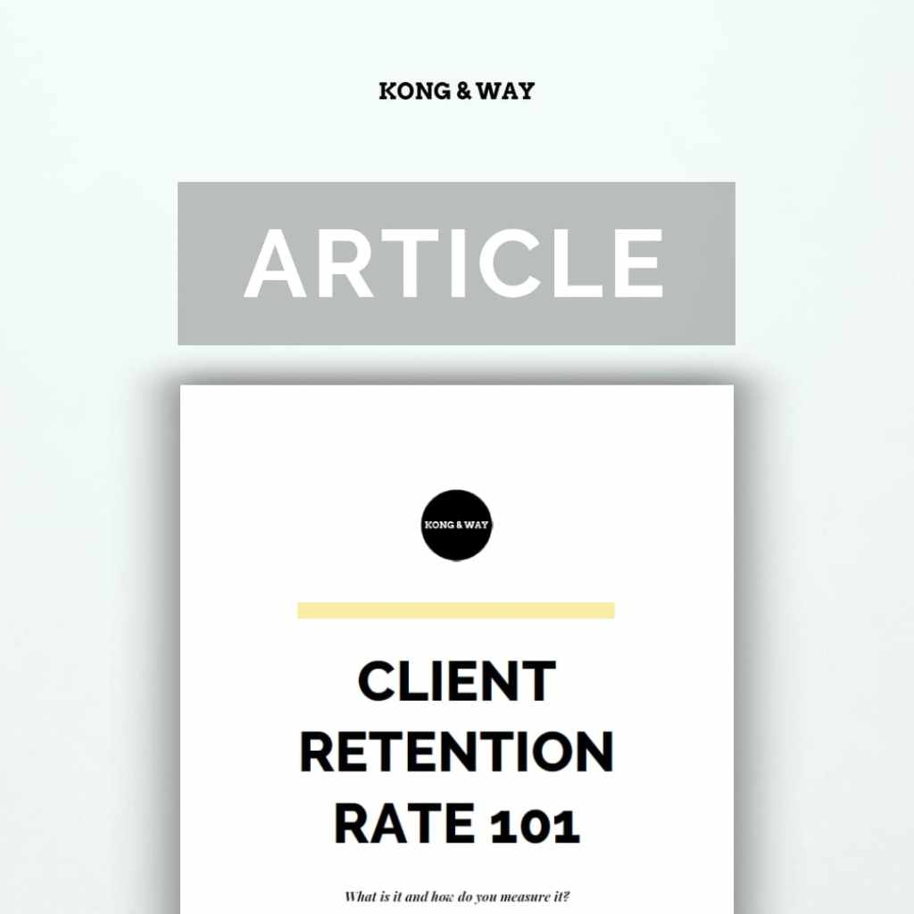 Client retention rate 101 kong and way download
