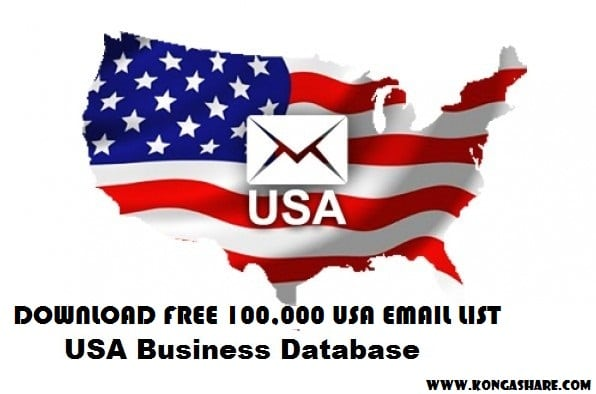Download Free 100000 Fresh USA Email List 2019 - Email Marketing