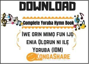 Yoruba Hymn Book Music Sheet (Iwe Orin Mimo) in PDF