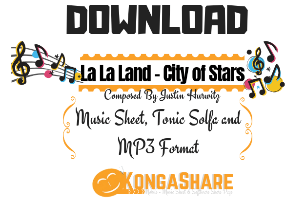 download La La Land - City of Stars sheet music - kongashare.com.