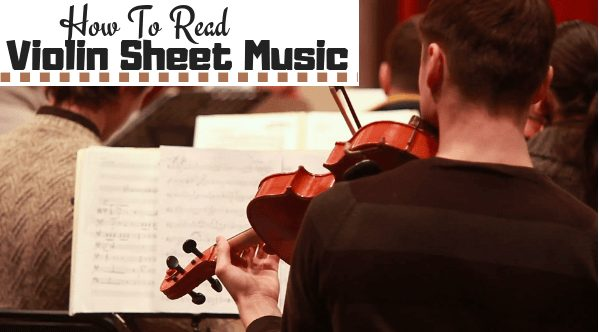 simple trick on how to read violin sheet music