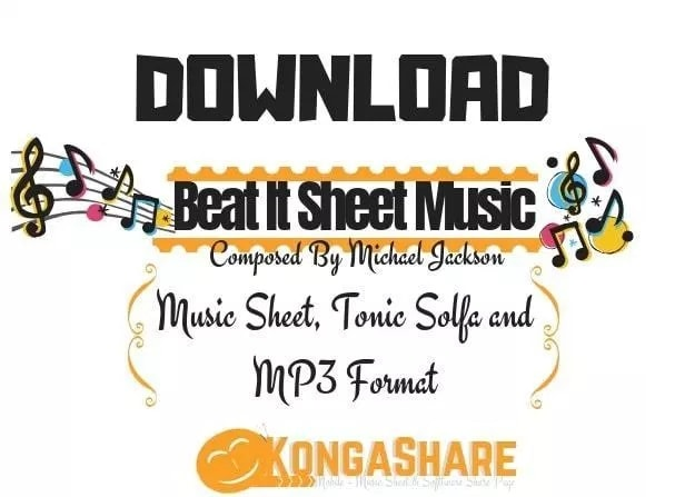 Download Beat It Sheet Music By Michael Jackson kongashare