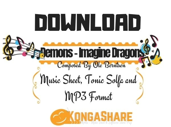 Download Free Demons - Imagine Dragons sheet music kongashare