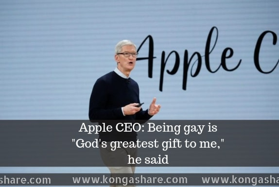 Apple CEO Says-Being Gay Is Gods Greatest Gift To Me Personally_kongashare
