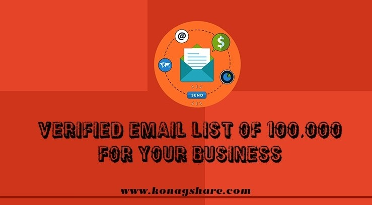Verified Email List Of 100000 For Your Business - Email Marketing