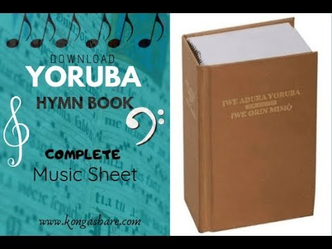 Download Yoruba Hymn Book Music Sheet - Iwe Orin Mimo