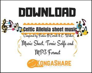 Celtic Alleluia sheet music