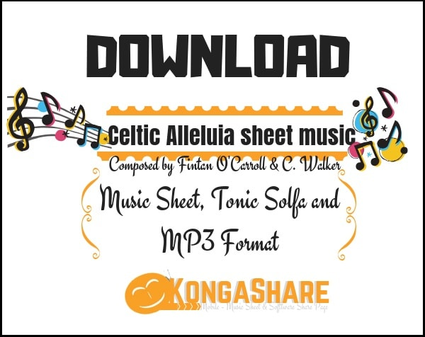 Celtic Alleluia sheet music