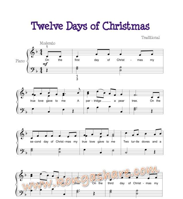 12 Days Of Christmas sheet music_kongashare.com_min.jpg