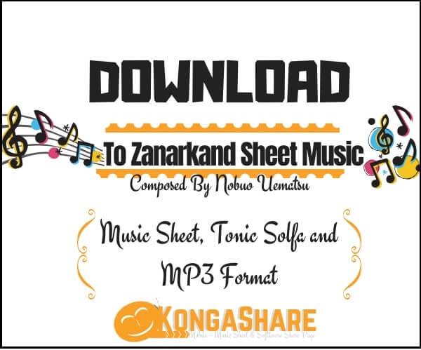 Download To zanarkand sheet music by Nobuo Uematsu in PDF_kongashare.com_mm-min