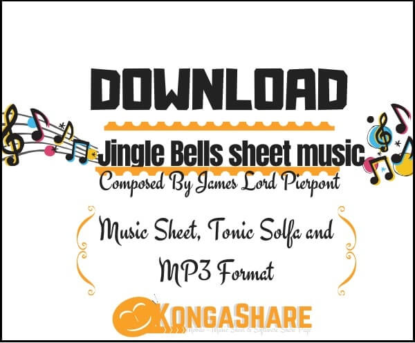 jingle bells sheet music - james lord pierpont