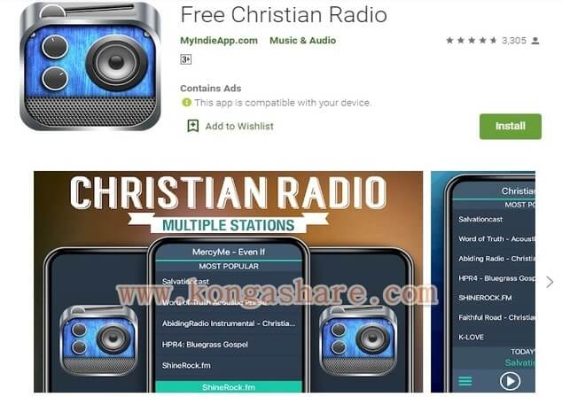 Free Christian Music Apps on Google Play in 2020 - Free Christian Radio app Picture_kongashare.com_mm