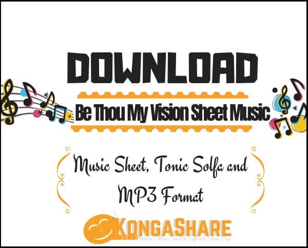 Download be thou my vision Sheet Music_kongashare.com_mmm