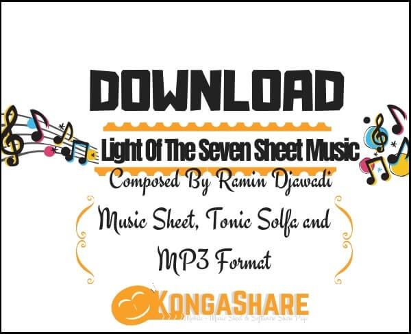 Download Light Of The Seven sheet music by Ramin Djawadi_kongashare.com_mmn