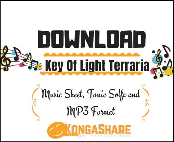 Download Key Of Light Terraria sheet music _kongashare.com_m