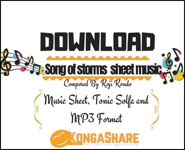 Download Song of storms sheet music _kongashare.com_scores