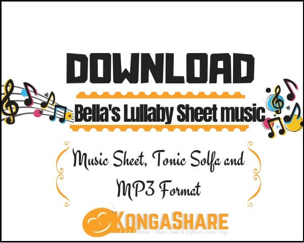 Bella's Lullaby Sheet music_kongashare