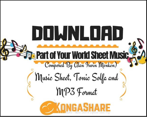 Part of Your World sheet music_kongashare.com_mb