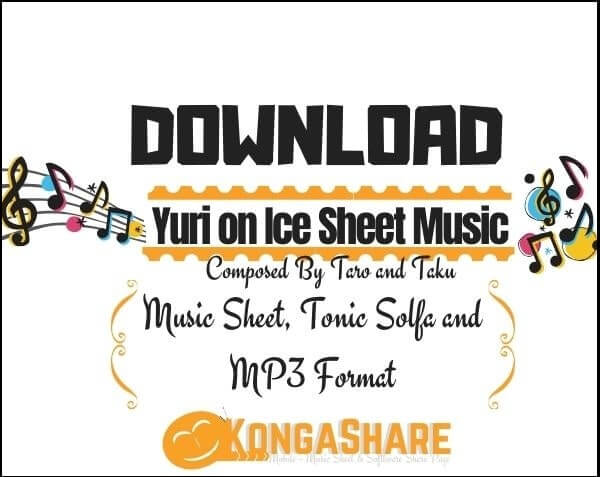 Download Yuri on Ice Piano Sheet Music_kongashare.com_mb