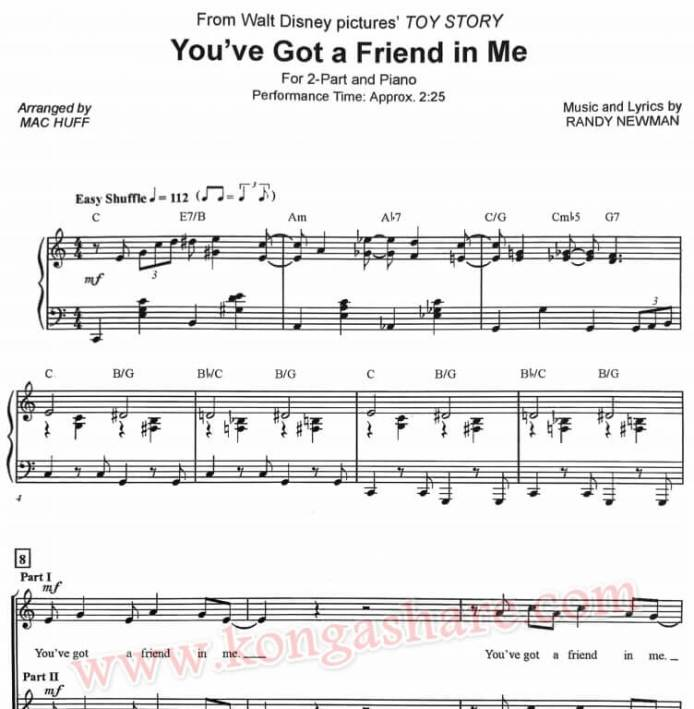 You've Got A Friend in Me sheet music_kongashare.com_m