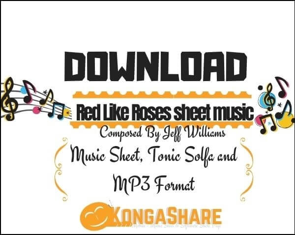 Red Like Roses sheet music_kongashare.com_mh-min
