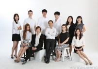 Front Row (Lt To Rt): Young Joo, KyungHwa Jung, SangHyun, Joanna, YunJin. Back Row (Lt To Rt): JungHwa, Sam, Will, Wookie, Jenna, MoonYoung.