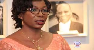 Yollande Ebongo Bosongo, ministre de la Fonction publique du Gouvernement Fatshi.