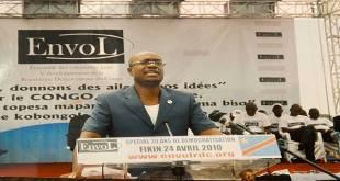 Delly SESSANGA - President du parti politique Envol, en RDC.
