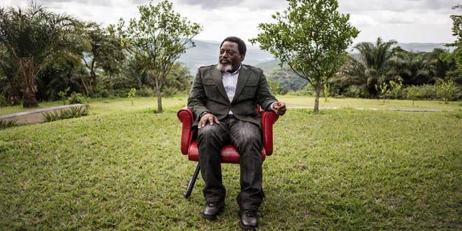 Joseph Kabila dit Rais Che Guevara, ancien president de la RDC.