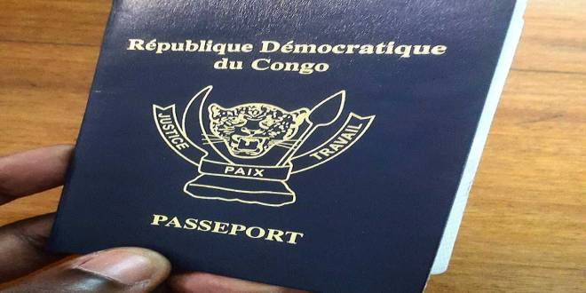 Passeport de la RDC.