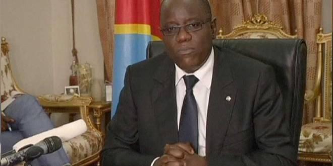 """Aubin MINAKU, ancien président de l'assemblée nationale de la RDC et membre du FCC de """"Joseph KABILA""""."""