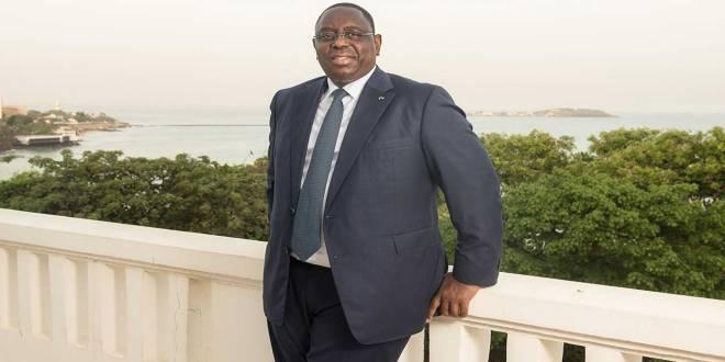 Macky SALL, President de la république du Sénégal.