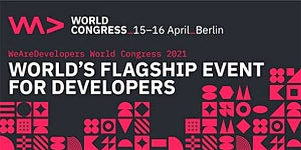 WeAreDevelopers World Congress,Kongress,Konferenz,Berlin,Tagung