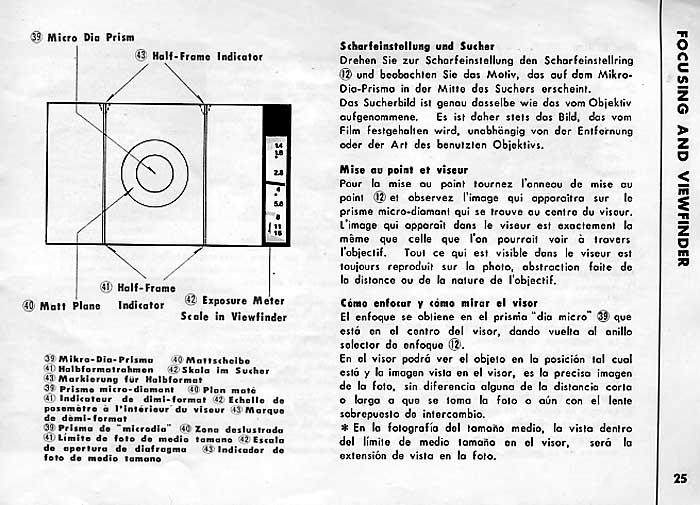 Konica Auto-Reflex Manual