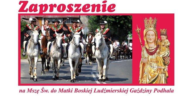 Zapraszamy na Mszę św. do Ludźmierza 6 grudnia 2015r.