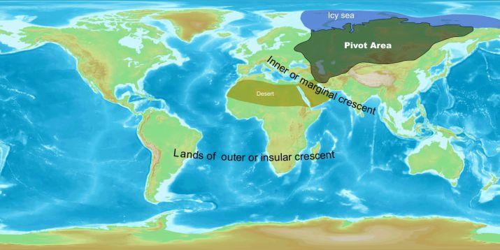 Mackinders Weltinsel
