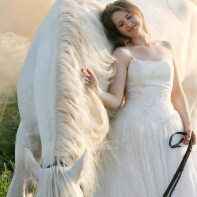 花嫁と手綱