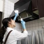レンジフード掃除方法