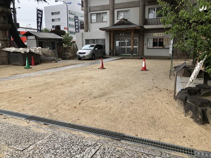 敏馬神社 駐車場