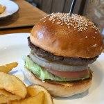 靭公園 ハンバーガー