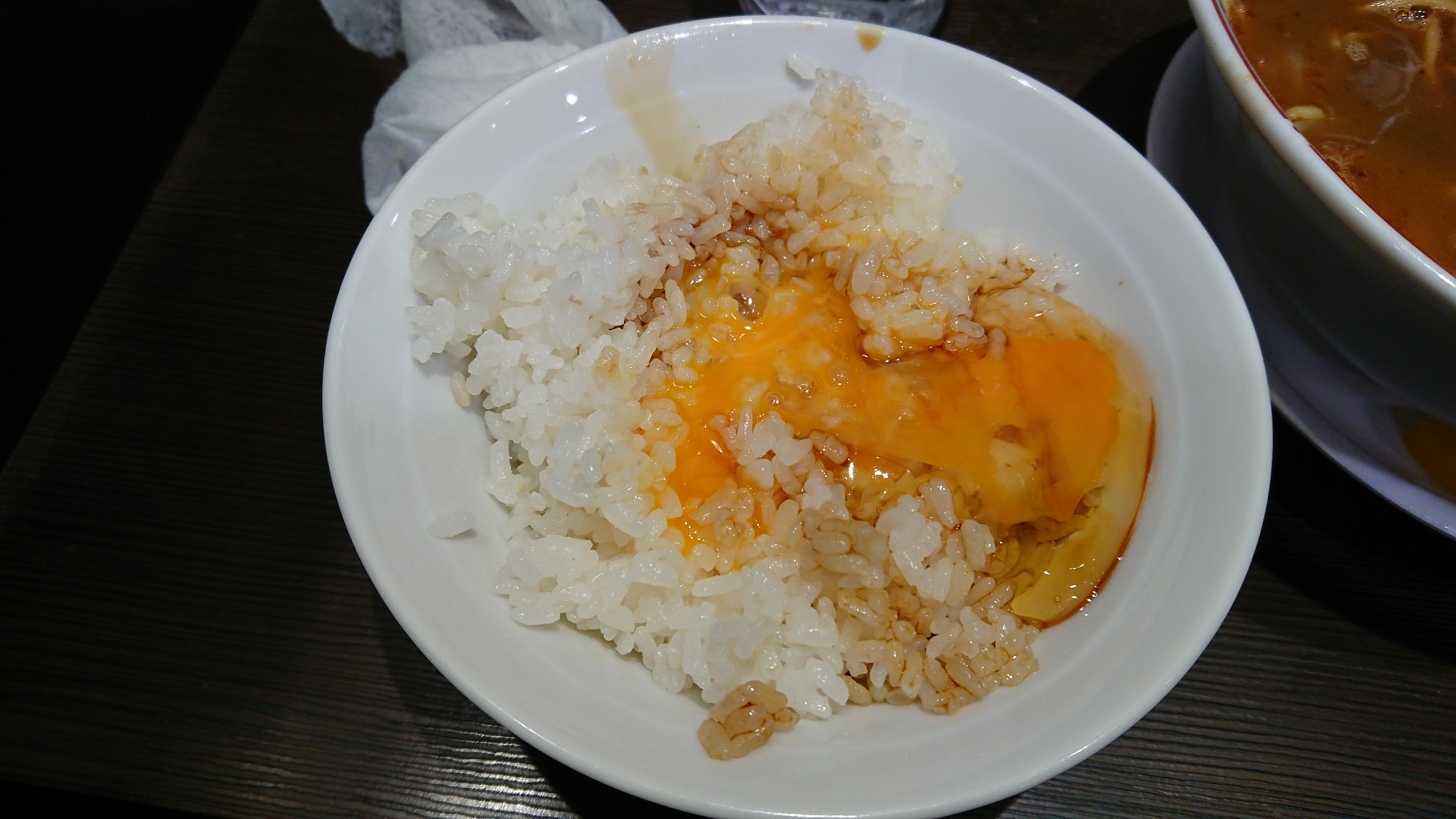 大孫(だいそん)卵かけごはんやってみた