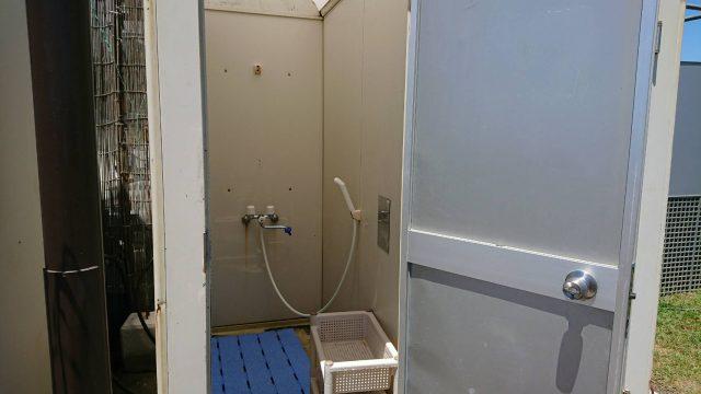 月見ヶ丘海水浴場のシャワー2