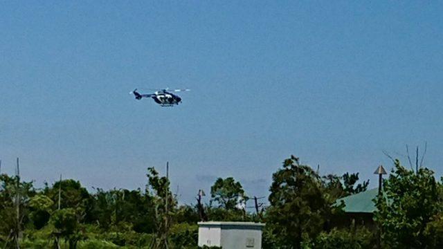 月見ヶ丘海浜公園飛行場が近い