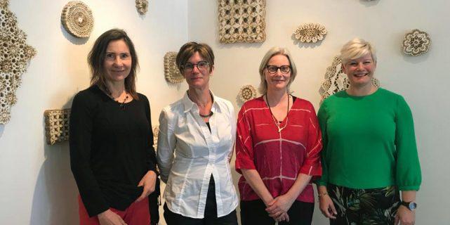 Mathilde van Wijnen, Ina Fekken, Loes Schepens en Mariëlle Vavier. foto Pim Koppers