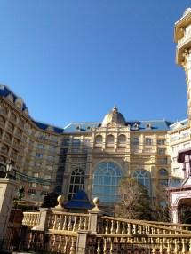 Tokyo Disneyland Hotel Corner Room Jan 2013 Trip Report