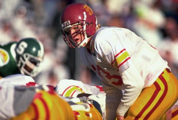 University of Southern California QB Todd Marinovich, 1990 Sun Bowl
